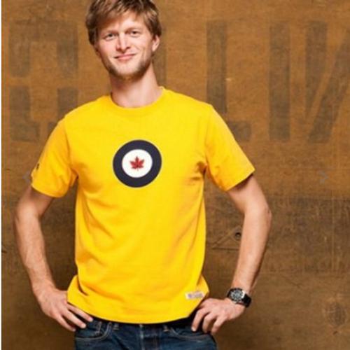 RCAF T-Shirt (Yellow)
