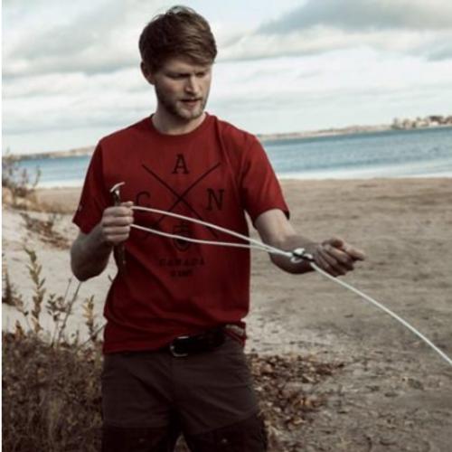 Canada Cross T-Shirt (Red)