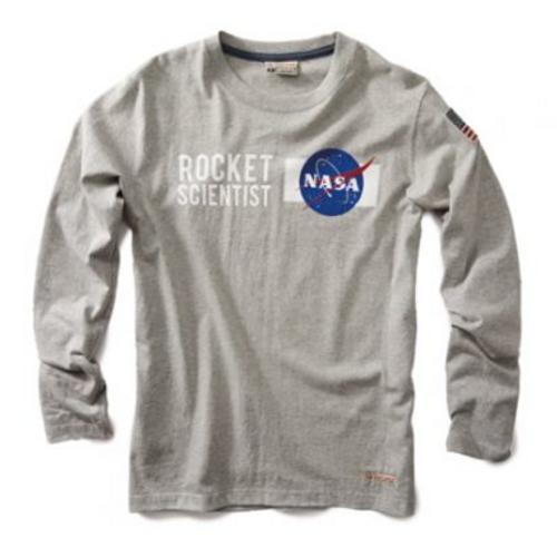 Nasa Rocket Scientist Long Sleeve T-Shirt