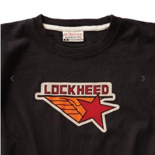 Lockheed T-Shirt (Black)