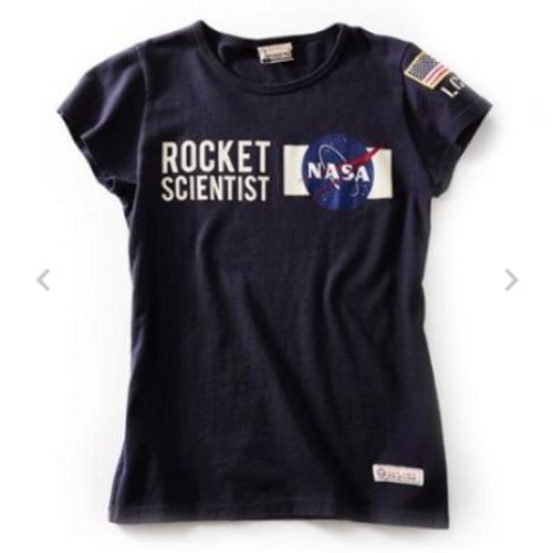 NASA Rocket Scientist Ladies T-Shirt