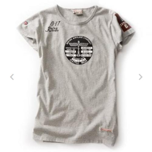 Boeing B-17 Flying Fortress Ladies T-Shirt