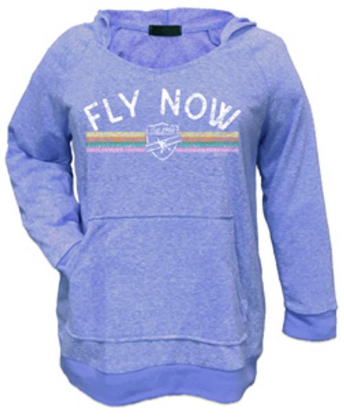Fly Now Hoodie (Periwinkle)