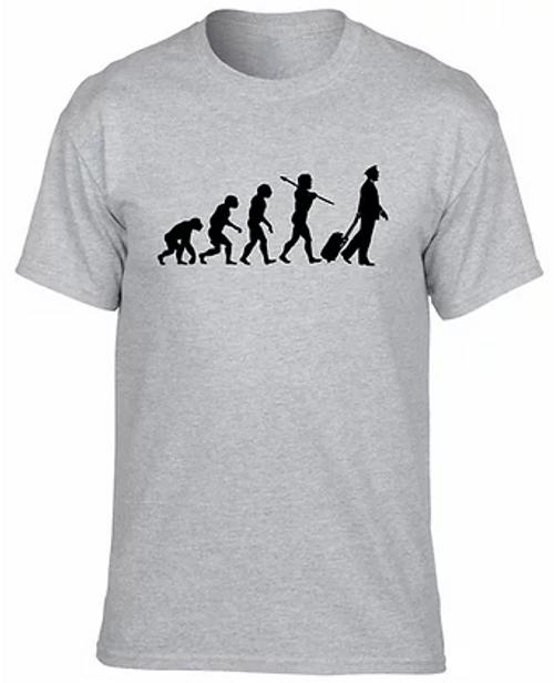 Evolution of the Pilot T-Shirt