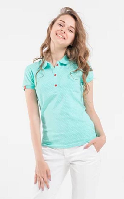 Mini Airplanes Ladies Polo T-Shirt