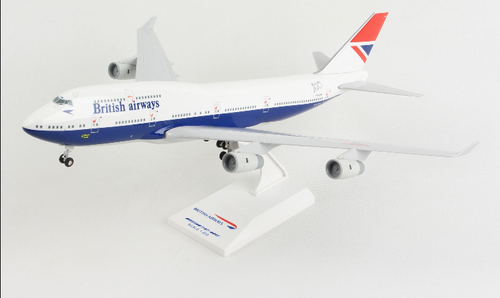Skymarks British Airways retro Negus livery 747-400