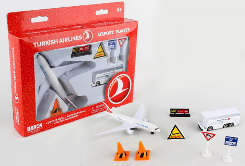 Turkish Airlines Airport Playset