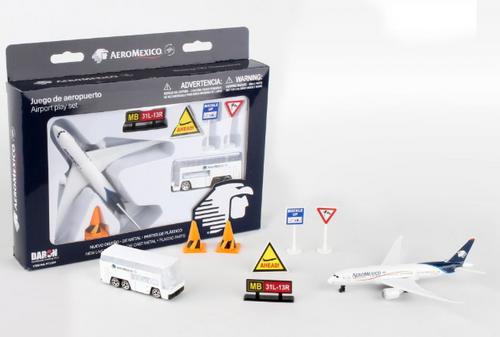 Aeromexico Airport Playset