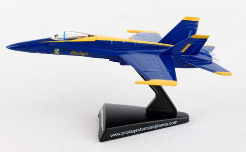 Postage Stamp 1:150 Blue Angels F/A-18
