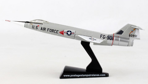 Postage Stamp 1:120 F-104 Starfighter Tactical Fighter