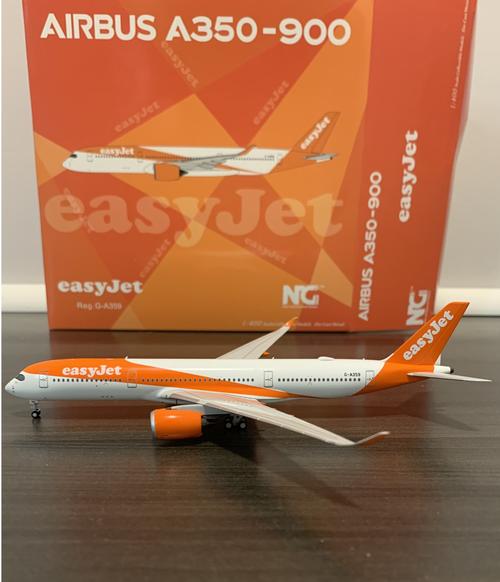 NG Models 1:400 Easyjet A350-900