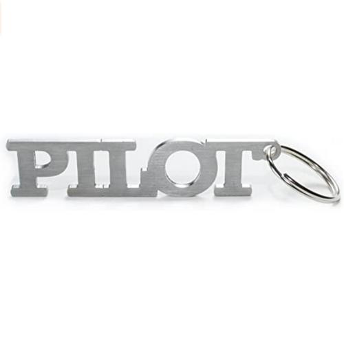Pilot Metal Keychain