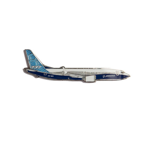 Boeing 737 MAX Illustrated Magnet
