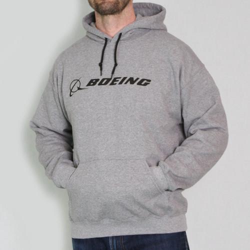 Boeing Signature Event Graphic Hoodie (GREY)
