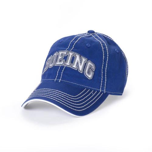 Boeing Varsity Heavy Stitch Cap (Blue)