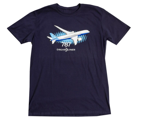 Boeing 787 Illustrated T-Shirt