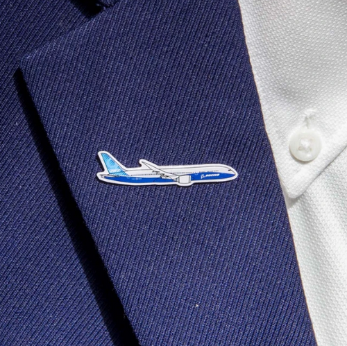 Lapel pin - 787-9 Illustrated Pin