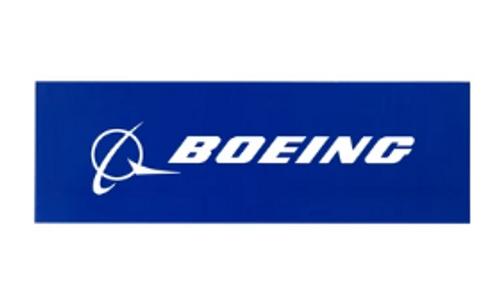 Boeing Logo Bumper Sticker