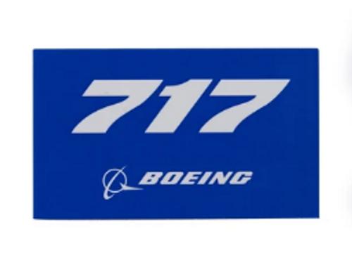 717 Blue Sticker