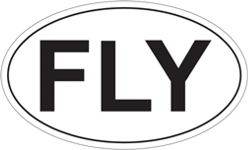 FLY Euro Sticker