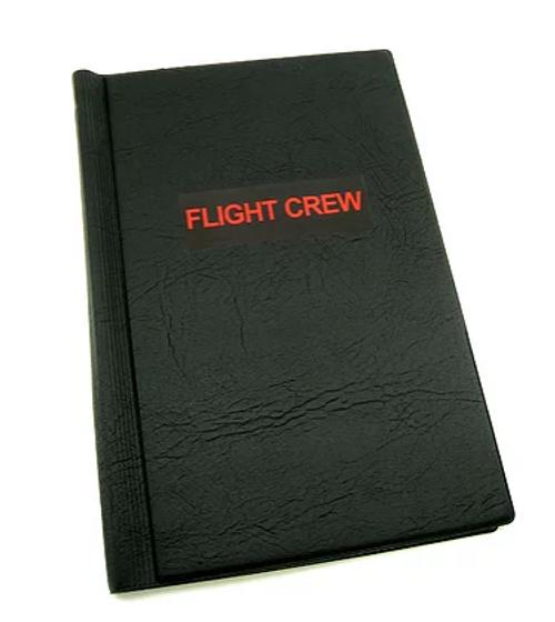 "Sticker, Flight Crew, 4.25"" x 1.38"""