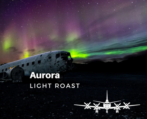Lost Aviator Aurora Coffee (Light Roast - Ground)