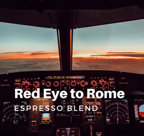 Lost Aviator Red Eye to Rome Coffee (Espresso Blend - Ground )