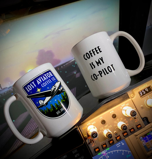 Coffee is my Co-Pilot Mug