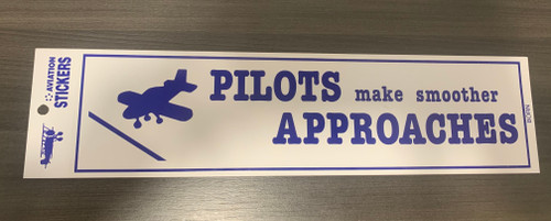 Pilot Approaches bumper sticker