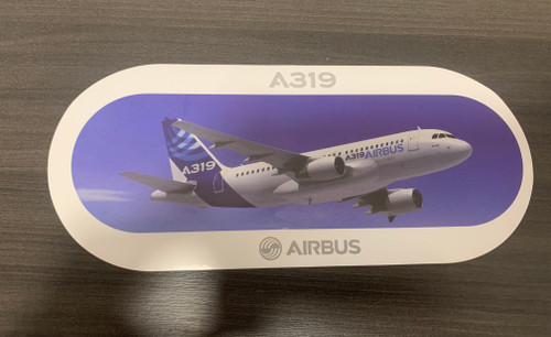 Airbus A319 Sticker