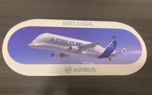 BELUGA Airbus Sticker