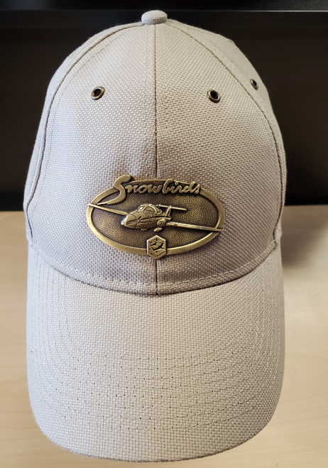 Snowbirds Brass Cap (Stone)
