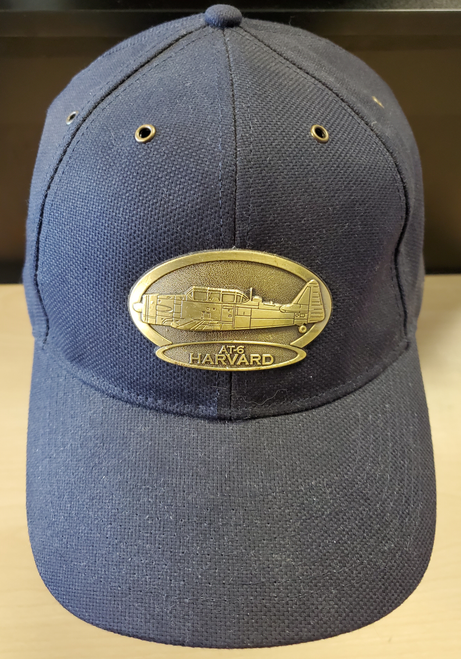 AT-6 Harvard Brass Cap (Navy Blue)