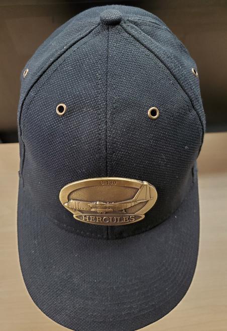 C-130 Hercules Brass Cap (Black)