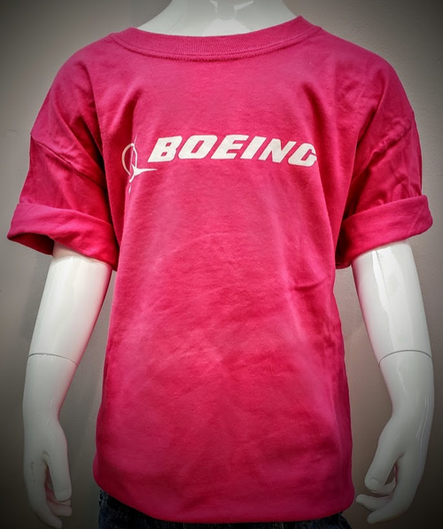 Boeing Signature Youth T-Shirt (Pink)