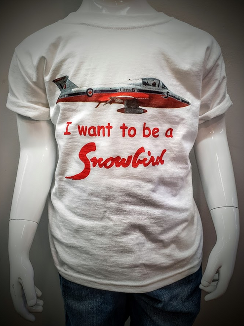 I Want to be  a Snowbird Youth T-Shirt