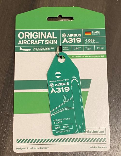 Aviationtag Green A319