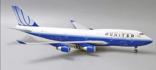 "JC Wings 1:200 United Airlines B747-400 ""U.S. Olympic Team"" N199UA"