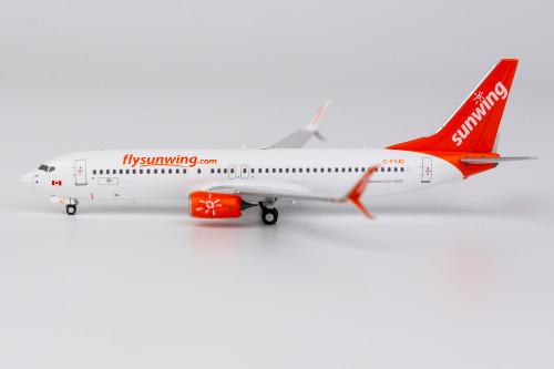NG Models Sunwing 737-800 w/Scimitar Winglets