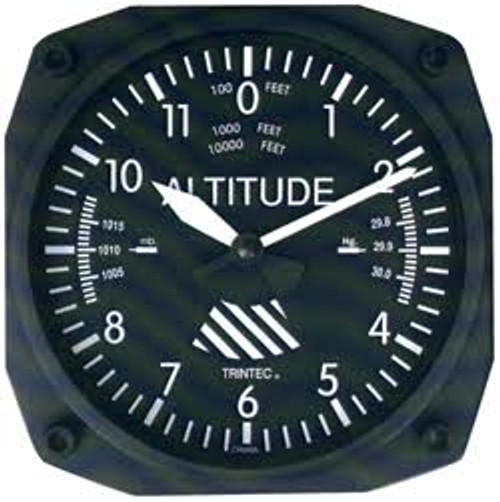 """6"""" Classic Altimeter wall clock"""