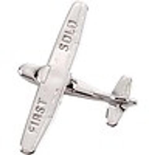 Cessna 172 First Solo Premium Lapel Pin - Silver