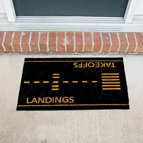 Take Offs and Landings Doormat