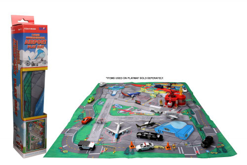 Large Airport Playmat