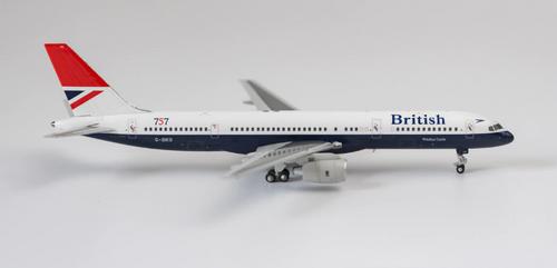 NG Models 1:400 British Airways 757-200 G-BIKB Negus