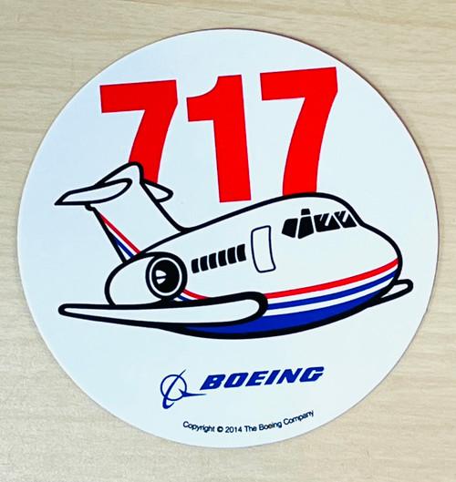717 Pudgy Sticker