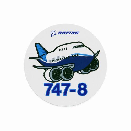 747-8 Pudgy Sticker