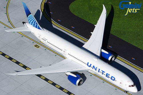 Gemini200 1:200 United Airlines 787-9 (New Livery)