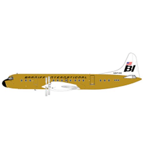 JC200 1:200 Braniff International L-188C Electra