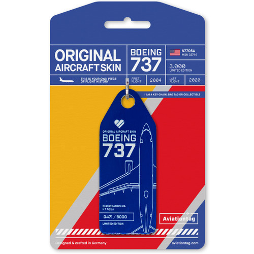 AviationTag 737-700 Southwest Airlines