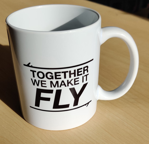 Together We Make It Fly Mug